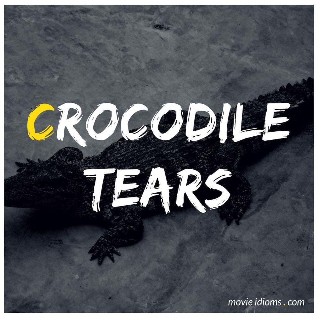 Crocodile Tears Idiom