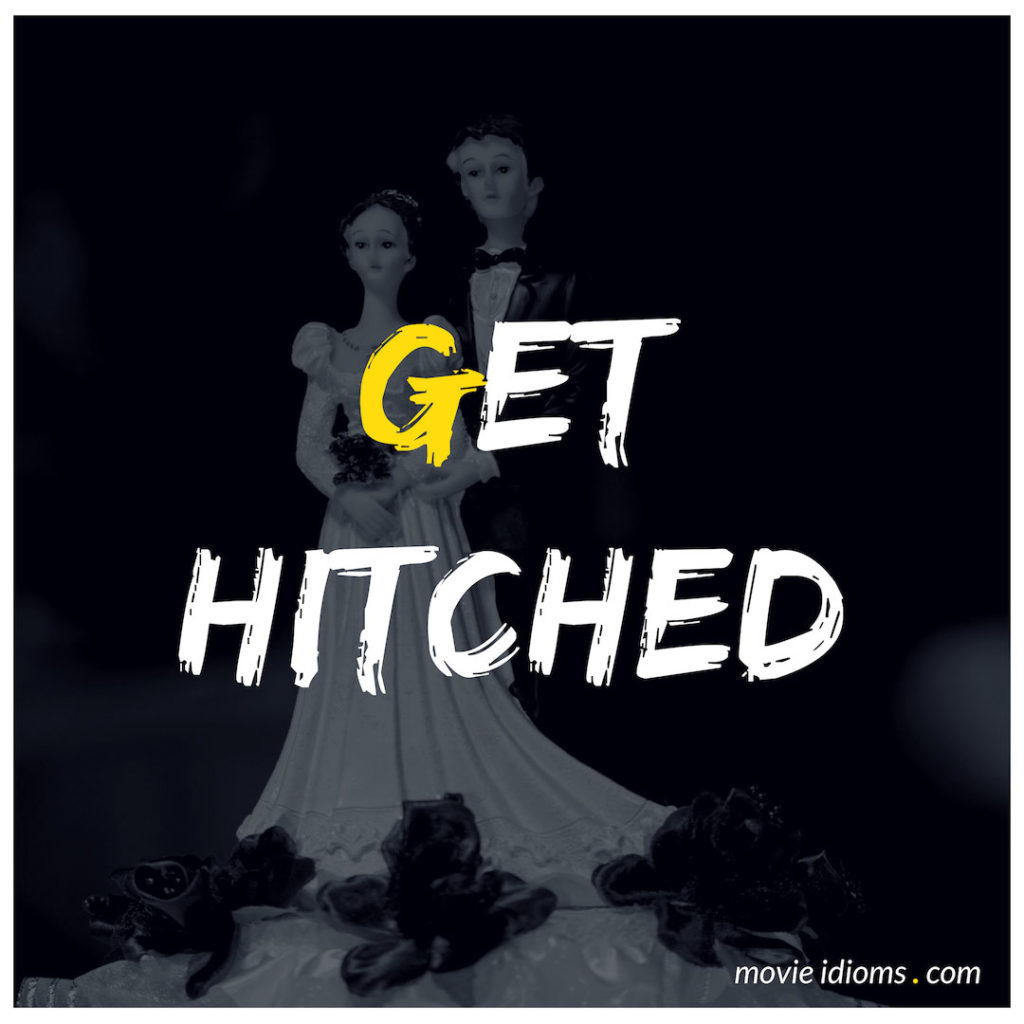 Get Hitched Idiom