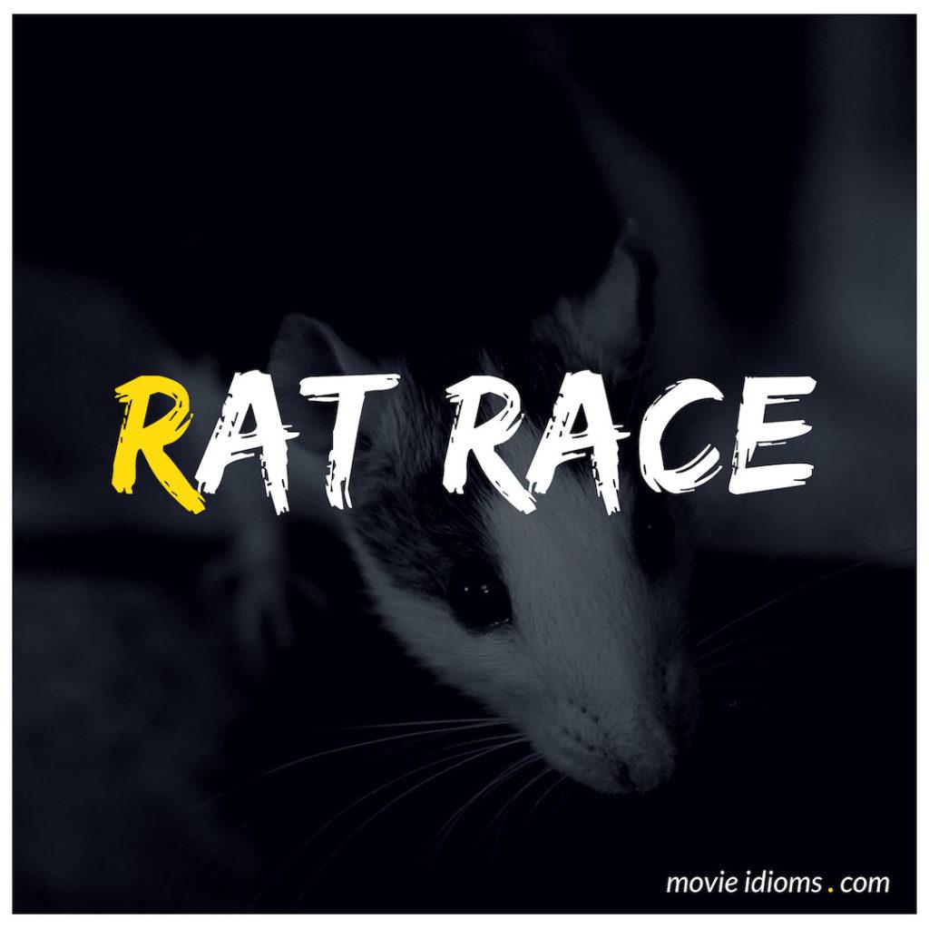 Rat Race Idiom