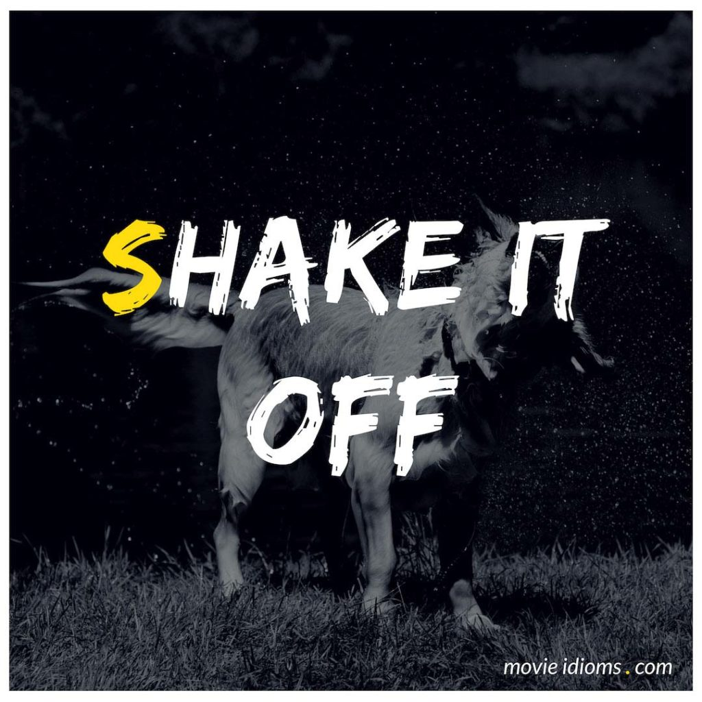 Shake It Off Idiom