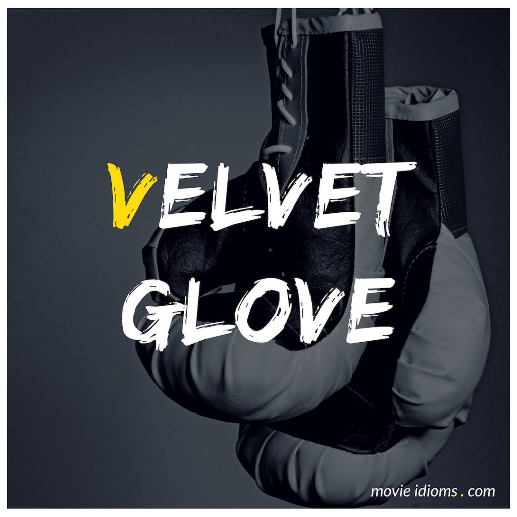 Velvet Glove Idiom