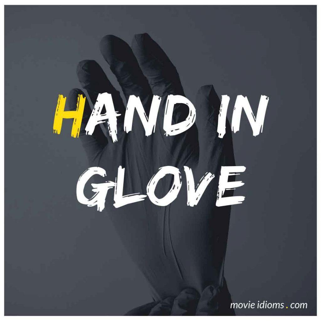 Hand in Glove Idiom