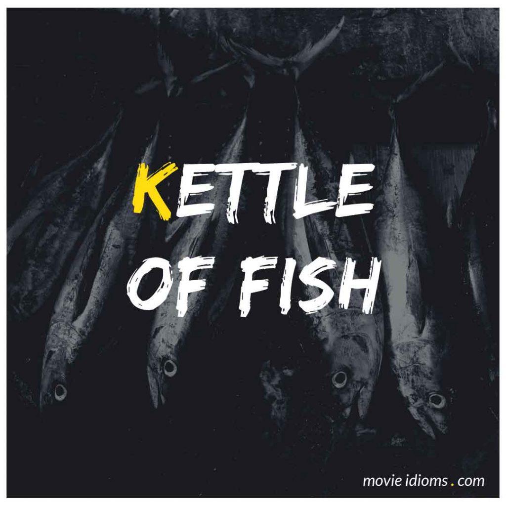 Kettle of Fish Idiom